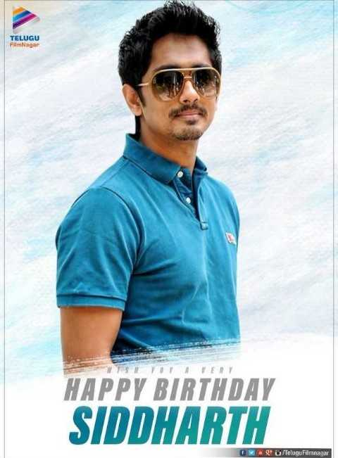 🎂సిద్దార్థ్ పుట్టినరోజు🎉🎈 - TELUGU FilmNagar SYOY VERY HAPPY BIRTHDAY SIDDHARTH W R / Telugu Filmnagar - ShareChat