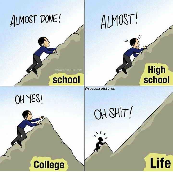 స్కూల్ మెమోరీస్ - ALMOST DONE ! ALMOST ! successpictures High school school @ successpictures OH YES ! OH SHIT ! SOCCO College Life - ShareChat