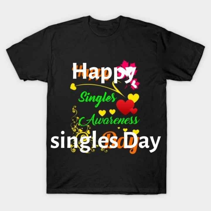 😁 హ్యాపీ సింగిల్స్ డే - Happ Singles PAwareness singles Day - ShareChat