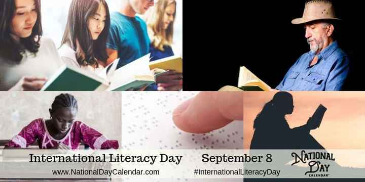 ಅಂತರಾಷ್ಟ್ರೀಯ ದಿನಗಳು - International Literacy Day September 8 NATIONAL www . NationalDayCalendar . com # InternationalLiteracyDay CALENDAR - ShareChat