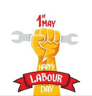 ಕಾರ್ಮಿಕರ ದಿನಾ - 1 MAY HAPPY LABOUR DAY - ShareChat