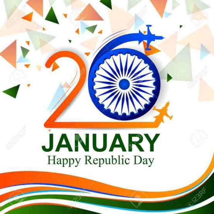 🙏ಗಣರಾಜ್ಯೋತ್ಸವದ ಶುಭಾಶಯಗಳು - JANUARY Happy Republic Day 123RF - ShareChat