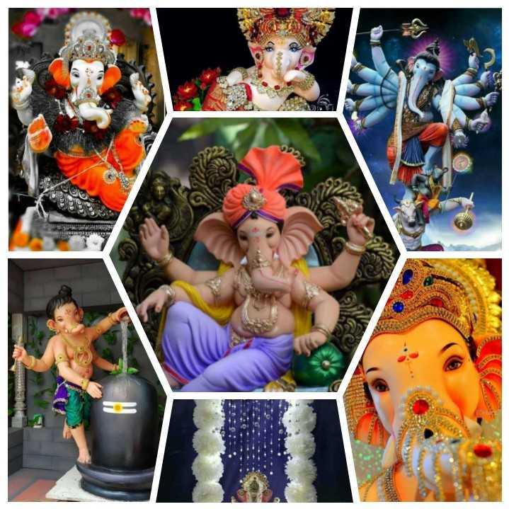 🤝ಗಣೇಶ ಚತುರ್ಥಿಯ ಶುಭಾಶಯಗಳು - - பப்பாடியார் சார்பார்க்க - 3 . - ShareChat