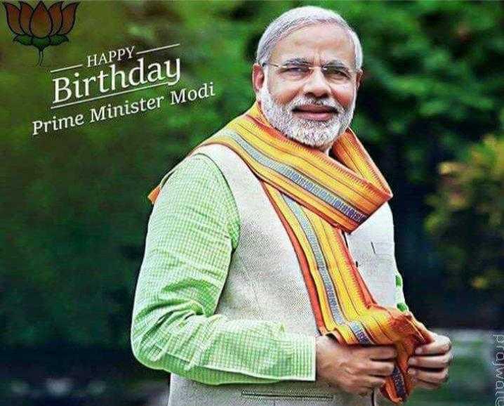 ಗೆಲುವಿನ ಸಂಭ್ರಮ - - HAPPY Birthday Prime Minister Modi NB0DD ONS Prajwale - ShareChat
