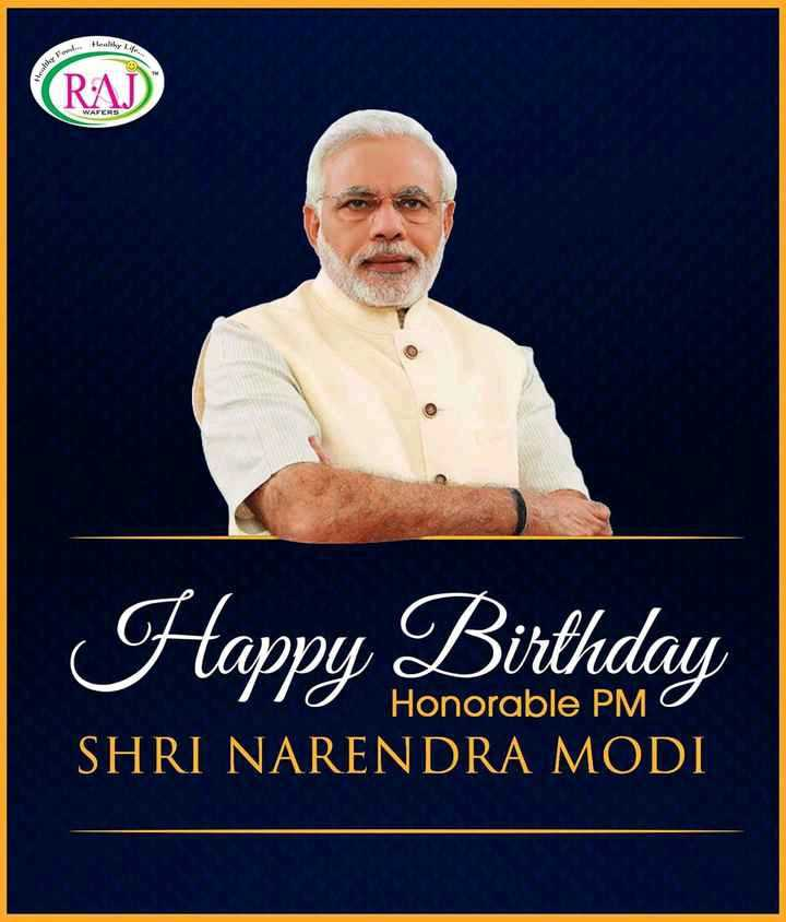 🎂 ಚೌಕಿದಾರ್ ಹುಟ್ಟುಹಬ್ಬ - Healthy RAJ Happy Birthday o Honorable PMO SHRI NARENDRA MODI - ShareChat