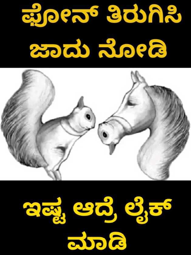 😜ಟ್ರೋಲ್ಸ್ - ಫೋನ್ ತಿರುಗಿಸಿ ಜಾದು ನೋಡಿ ಇಷ್ಟ ಆದ್ರೆ ಲೈಕ್ ಮಾಡಿ - ShareChat