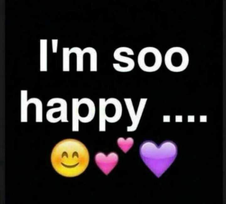 📱ಫೋಟೋ ಸ್ಟೇಟಸ್ - I ' m soo happy . . . . - ShareChat