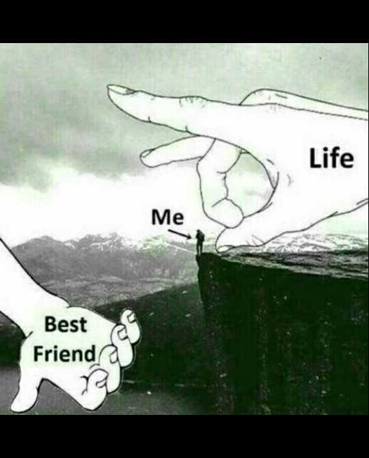 🤝ಫ್ರೆಂಡ್ ಶಿಪ್ ಸ್ಟೇಟಸ್ - Me Best Friend 190 - - - ShareChat