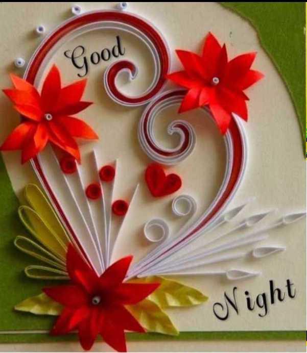 💐ಬುಧವಾರದ ಶುಭಾಶಯ - Good Night - ShareChat
