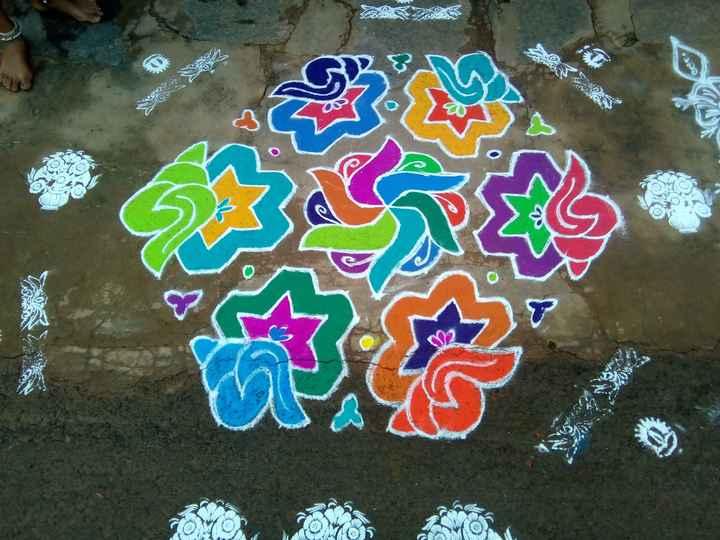 ರಂಗೋಲಿ - COMO - ShareChat
