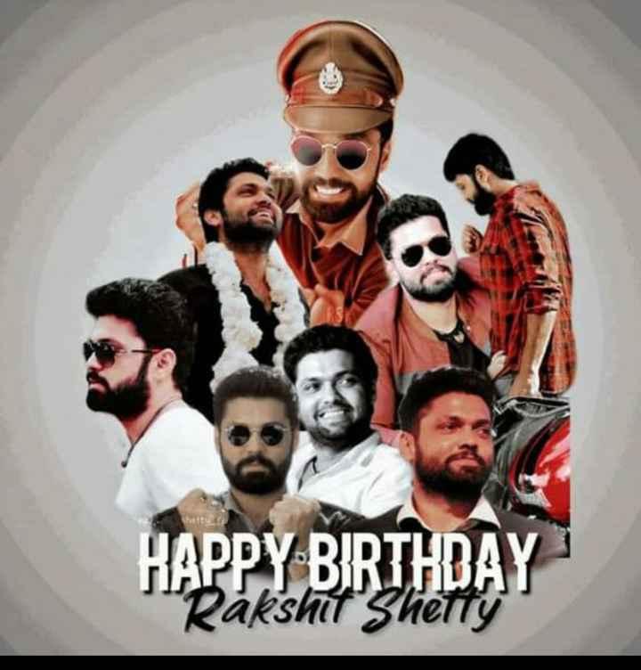 🎂ರಕ್ಷಿತ್ ಶೆಟ್ಟಿ ಹುಟ್ಟುಹಬ್ಬ - hestu HAPPY BIRTHDAY Rakshit Shetty - ShareChat
