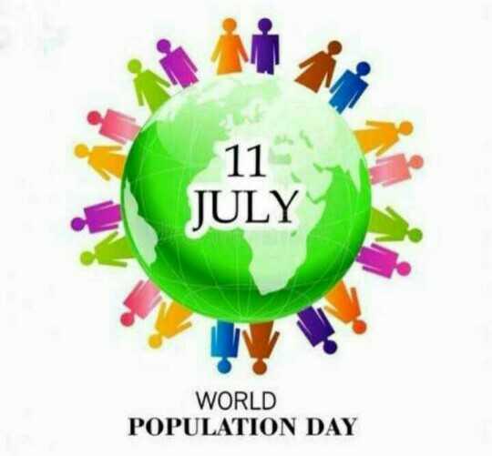 🌏 ವಿಶ್ವ ಜನಸಂಖ್ಯಾ ದಿನ - 17 JULY WORLD POPULATION DAY - ShareChat