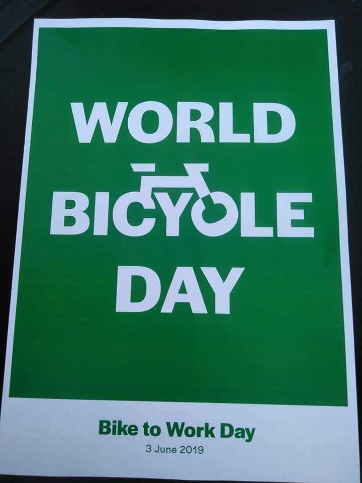 🚴ವಿಶ್ವ ಬೈಸಿಕಲ್ ದಿನ - WORLD BICYOLE DAY Bike to Work Day 3 June 2019 - ShareChat