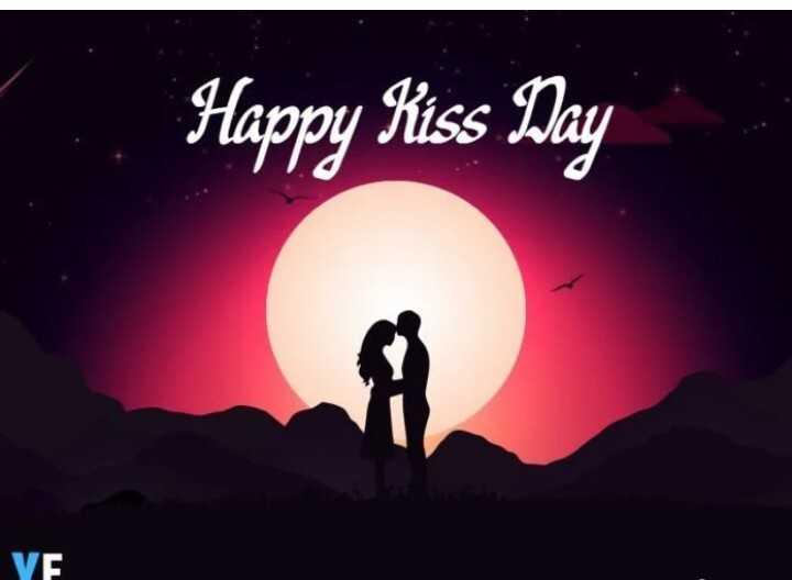 😘ವ್ಯಾಲೆಂಟೈನ್ - ಕಿಸ್ ಡೇ - Happy Kiss Day YE - ShareChat