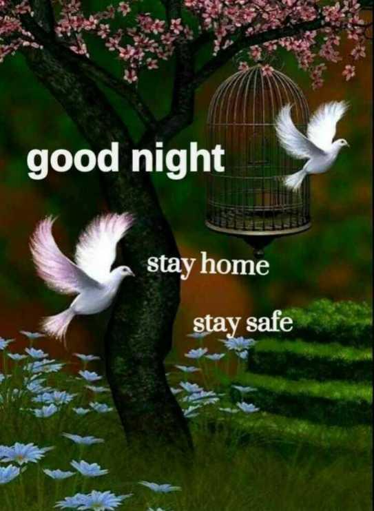 🌃ಶುಭರಾತ್ರಿ - good night BELO stay home stay safe - ShareChat