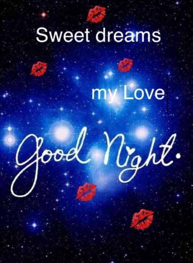 🌃ಶುಭರಾತ್ರಿ - Sweet dreams my Love Good night . - ShareChat
