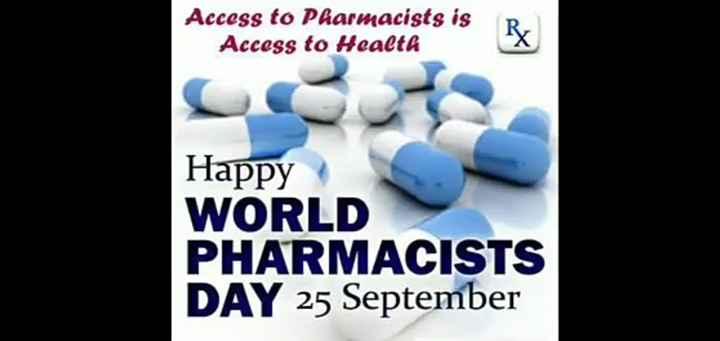 👏ಶುಭಾಶಯಗಳು - Access to Pharmacists is Access to Health Happy WORLD PHARMACISTS DAY 25 September - ShareChat