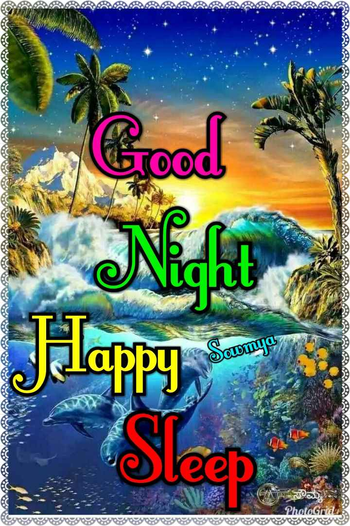 👏ಶುಭಾಶಯಗಳು - Good ! Night Jilappy Sowmya ? Sleep PhotoGrid - ShareChat