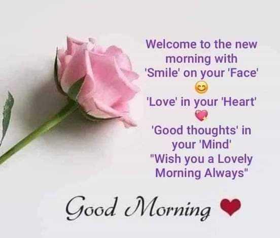 🌅ಶುಭೋದಯ - Welcome to the new morning with ' Smile ' on your ' Face ' ' Love ' in your ' Heart ' ' Good thoughts ' in your ' Mind Wish you a Lovely Morning Always Good Morning - ShareChat