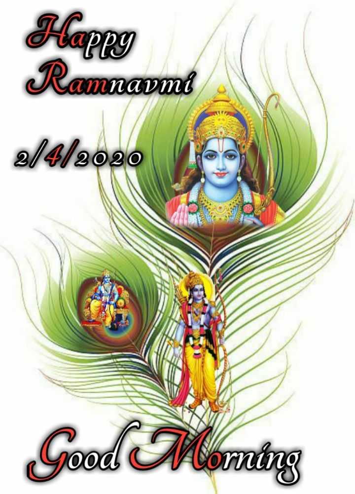 🌅ಶುಭೋದಯ - Happy Ramnavmi 2 / 4 / 202 20 Good Morning - ShareChat
