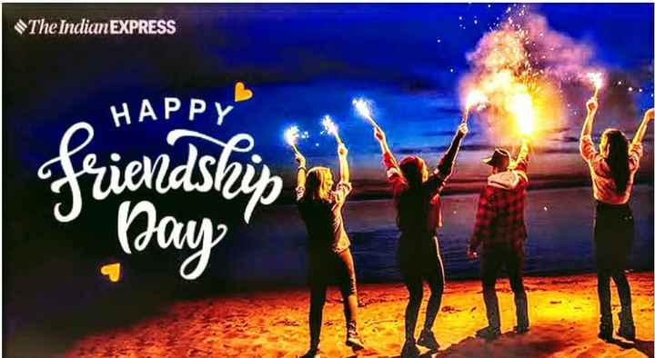 🤝 ಸ್ನೇಹಿತರ ದಿನ - The Indian EXPRESS HAPPY Priendship h or Day - ShareChat