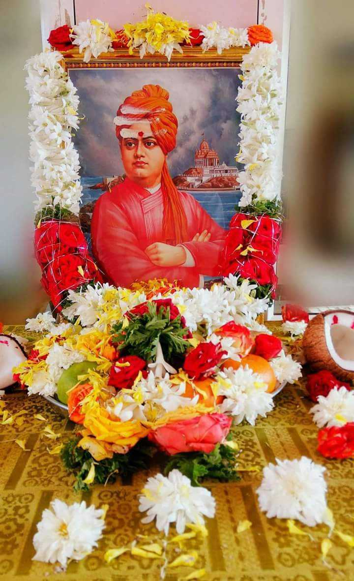 🙏 ಸ್ವಾಮಿ ವಿವೇಕಾನಂದ ಪುಣ್ಯತಿಥಿ - DIE HERE 1 - ShareChat