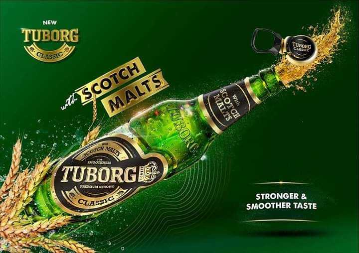 ಹೋಸ ಪೋಟೋ - NEW TUBORG CLASSIC with SCOTCH MALTS With MALTS SCOTCH MOBOR MOOTHNESS TUBORGE ) PROCUS STRONG CLASSIC STRONGER & SMOOTHER TASTE - ShareChat