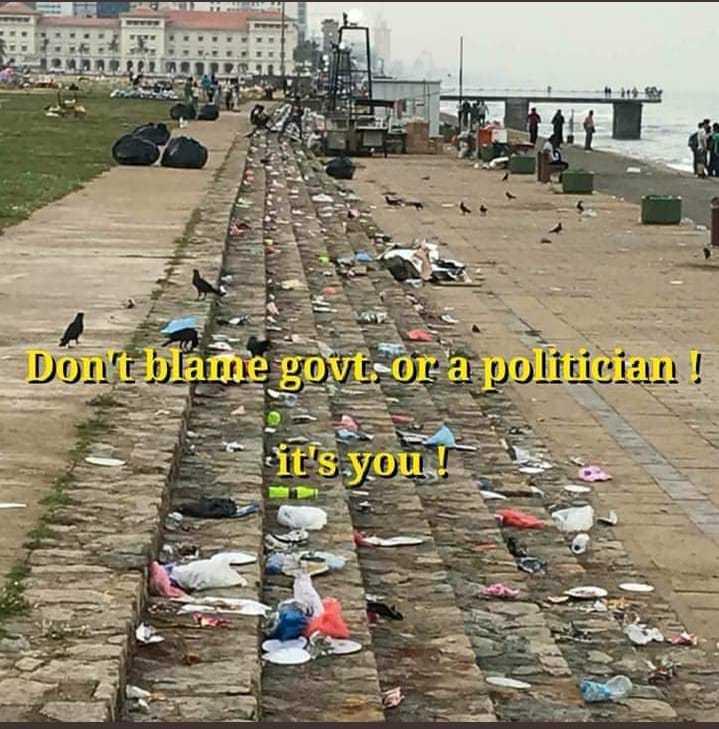 💭 എന്റെ ചിന്തകള് - Don ' t blame govt . or ' a politician ! it ' s you ! - ShareChat
