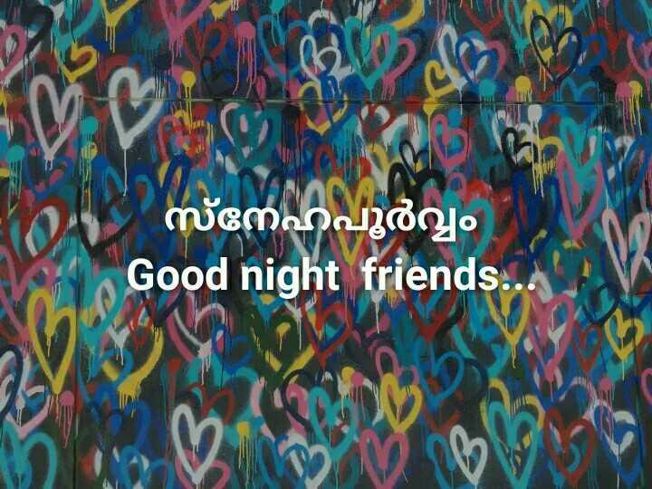 🌃 ഗുഡ് നൈറ്റ് - നേഹപൂർവ്വം   Good night friends . . . - ShareChat
