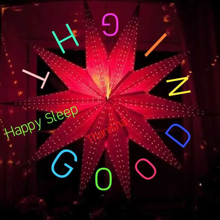 🌃 ഗുഡ് നൈറ്റ് - His i Happy Sleep O o D - ShareChat
