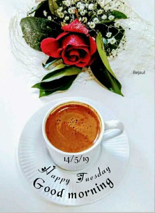 🌞 ഗുഡ് മോണിംഗ് - Rejaul 14 / 5 / 19 appy - Good mo Oy Tuesday morning - ShareChat