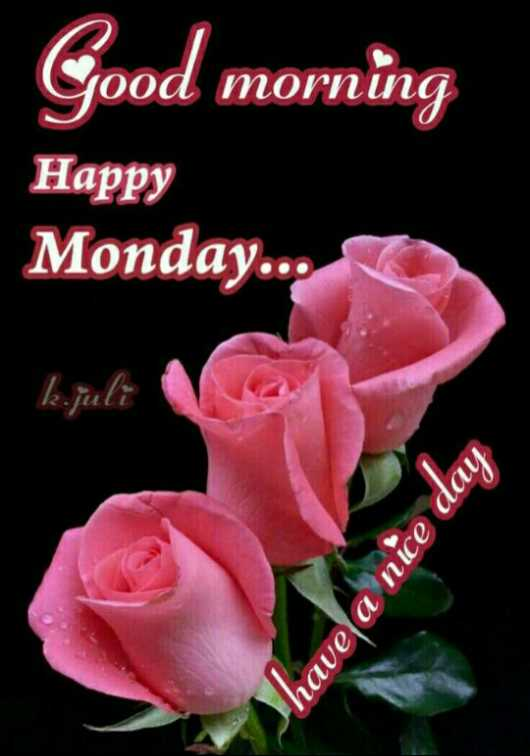 🌞 ഗുഡ് മോണിംഗ് - Good morning Happy Monday . . . k . juli have a nice day - ShareChat