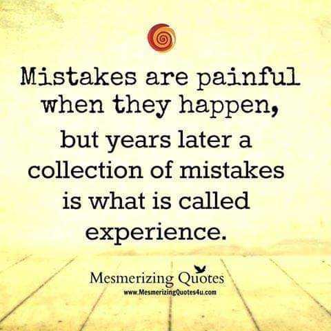 📙 നോവൽ - Mistakes are painful when they happen , but years later a collection of mistakes is what is called experience . Mesmerizing Quotes www . MesmerizingQuotes4u . com - ShareChat