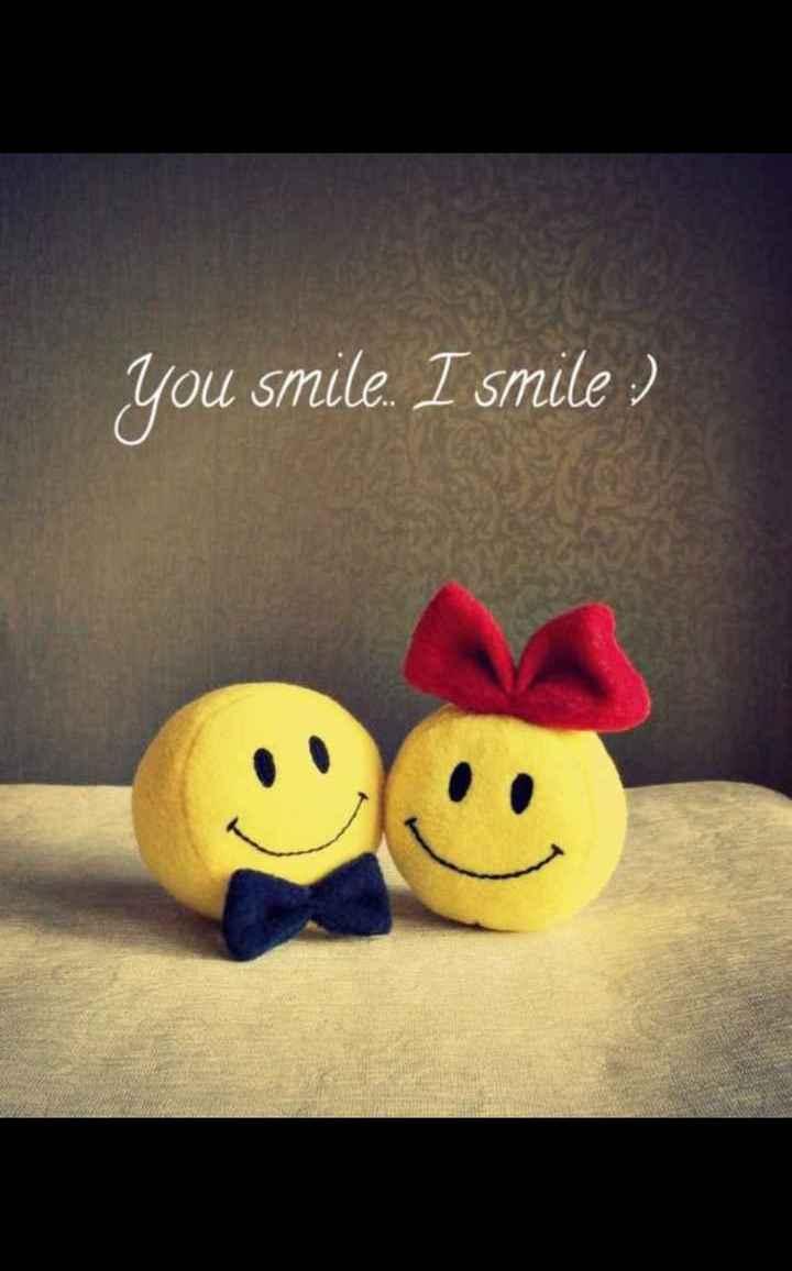 💌 പ്രണയം - you smile . I smile : ) - ShareChat