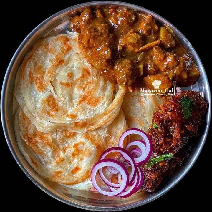 🍔  രുചി - Macaron Gal B © Keerthy Nair ! COD - ShareChat
