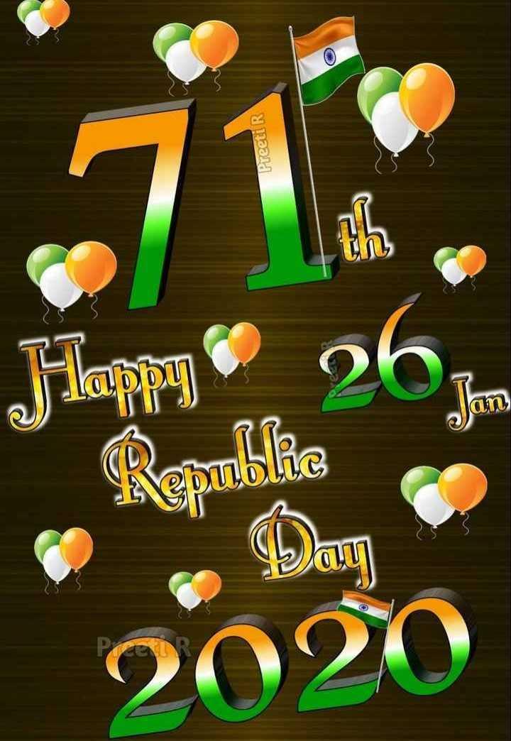 🇮🇳 റിപ്പബ്ലിക് ഡേ സ്റ്റാറ്റസ് - Preeti R UN on Happy 262 Renbike 2020 - ShareChat