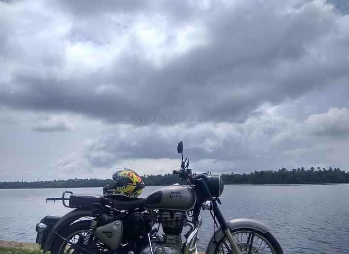 🛵 റൈഡര്‍ - @ nightride ROYAL ENFIELD - ShareChat