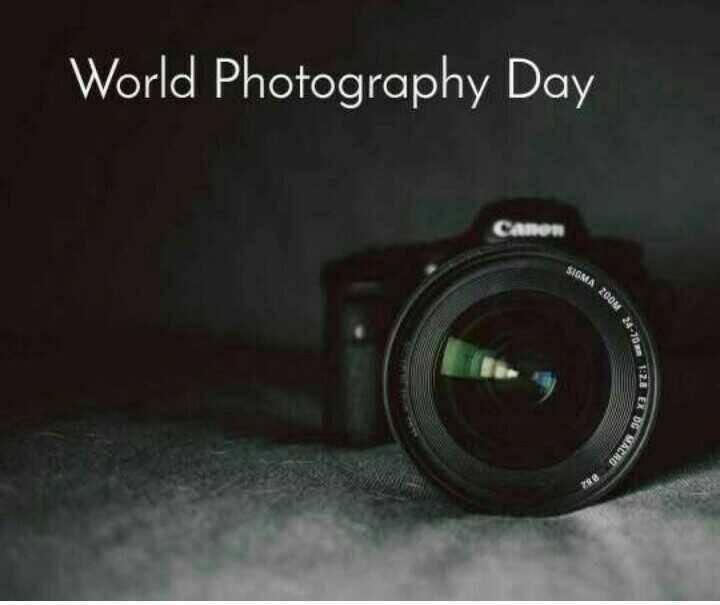 📷 ലോക ഫോട്ടോഗ്രാഫി ദിനം - World Photography Day Camon SIGMA 2008 24 . 70 EX OG - ShareChat