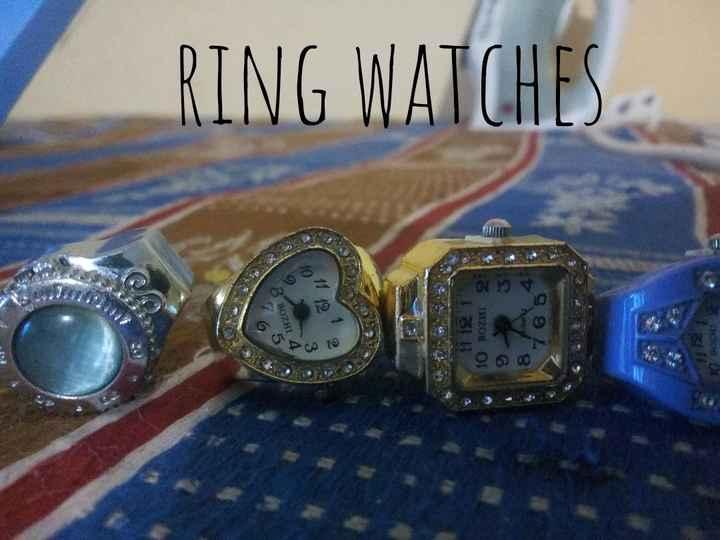 ⌚ വാച്ചുകള് - VIRZON 19 RING WATCHES 11 12 1 10 BOZHI 2 ACNO 8 7 6 5 - ShareChat