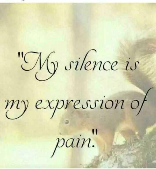 😞 വിരഹം - My silence is my expression of pain - ShareChat