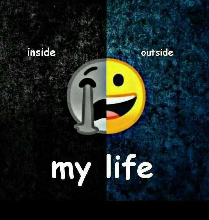 😞 വിരഹം - inside outside my life - ShareChat