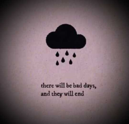 😞 വിരഹം - there will be bad days , and they will end - ShareChat