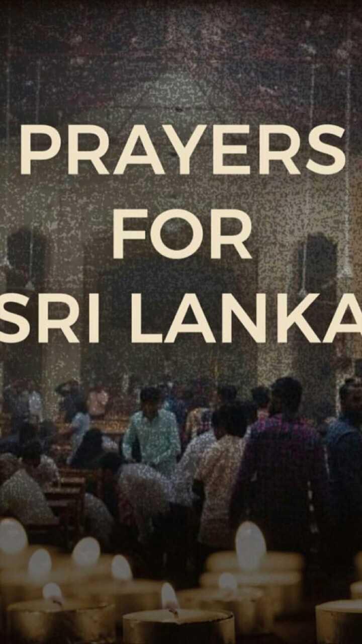 ശ്രീലങ്കയിൽ സ്ഫോടനം - PRAYERS FOR SRI LANKA - ShareChat