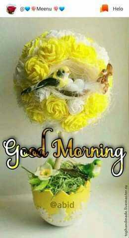 സിംഗിൾ ഡാ,  മെസ്സ് ഡാ - @ Meenu Good Morning @ abid tophandmade . livemaster . - ShareChat