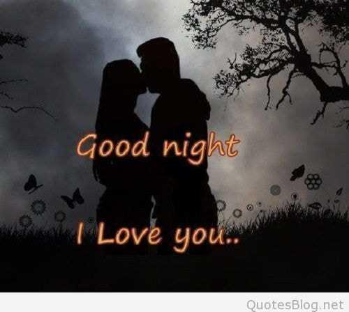 💑 സ്നേഹം - Good night I Love you . . Quotesblog . net - ShareChat