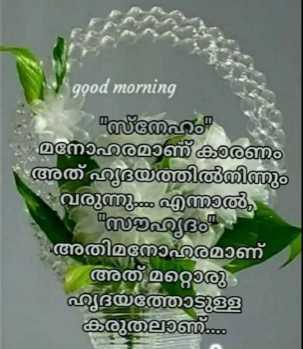 💑 സ്നേഹം - good morning ഹം മനോഹരമാണ്കണം അത് ഹൃദയത്തിൽനിന്നും വരുന്നു എന്നാൽ , ആദം അതിമനോഹരമാണ് അത് മറ്റൊരു ഹൃദയത്തോടുള്ള കരുതാണ് - ShareChat