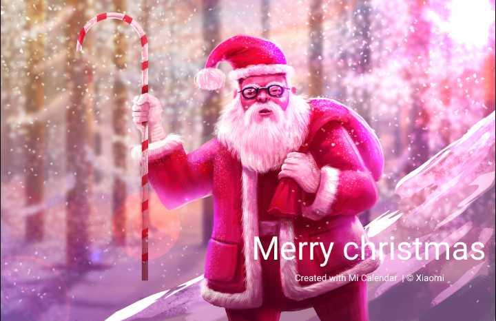 🎅ഹാപ്പി ക്രിസ്മസ് - Merry christmas Created with Mi Calendar | © Xiaomi - ShareChat