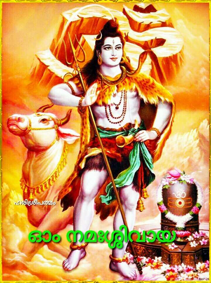 🙏ഹിന്ദു ഭക്തി - ഹരിശ്രീപത്മം ഓം നമഃശ്ശിമാരു BAP 26 - ShareChat