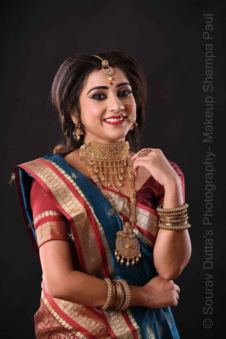 👩🏼💼বাঙালি  সাজ - 25 SAST2 RS . USE $ 33581 MAS 7 1 . 1 . 1 . KLEE CEO * © Sourav Dutta ' s Photography - Makeup Shampa Paul - ShareChat