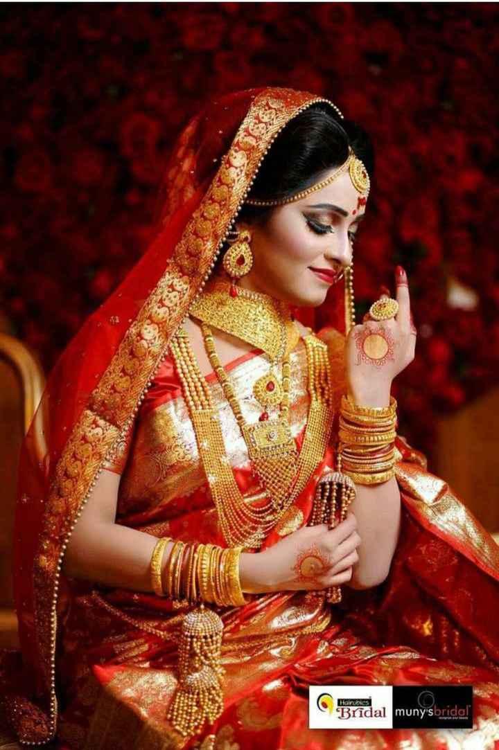 👩🏼💼বাঙালি  সাজ - Mairobics Bridal muny ' s bridal - ShareChat
